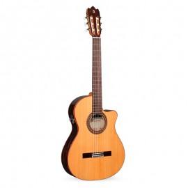 Guitarra Clásica Alhambra Electrificada Iberia Ziricote CTWE8