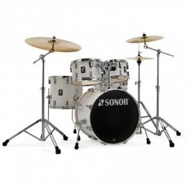 Bateria Acústica Sonor 20 pulgadas AQ1 Studio Set Piano White