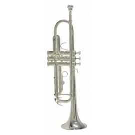 Trompeta Bach Plateada Sib TR650S
