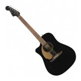 Guitarra Electroacústica Fender Redondo Player JTB LH