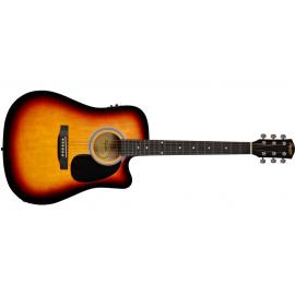 Guitarra Acústica Fender SA 105 Sunburts