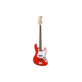 Bajo Fender Squier  Afffinity Jazz IL Red