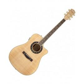 Guitarra Electroacústica Fender T-Bucket 400 CE Flame Arce Natural