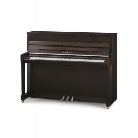 Kawai K-200 Piano Vertical Caoba y Blanco Pulido