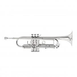 Trompeta Besson Plateada Sib BE110