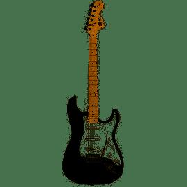 Guitarra Eléctrica Fender Squier Affinity Strat MN BK
