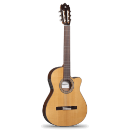 Guitarra Clásica Alhambra Electrificada 3C CT E1 Caja Estrecha