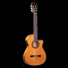 Guitarra Flamenca Alhambra Electrificada 3F CT E1 Caja Estrecha