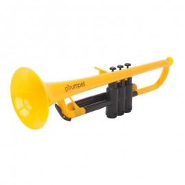 Trompeta Ptrumpet Plastico Sib 700624 Amarilla