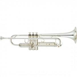 Trompeta Yamaha Plateada Sib YTR 6335S